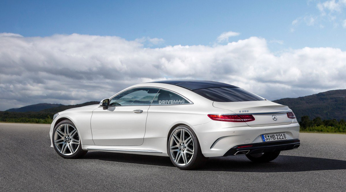 Surprise The 2018 Mercedes Benz E Class Coup 233 Looks Like