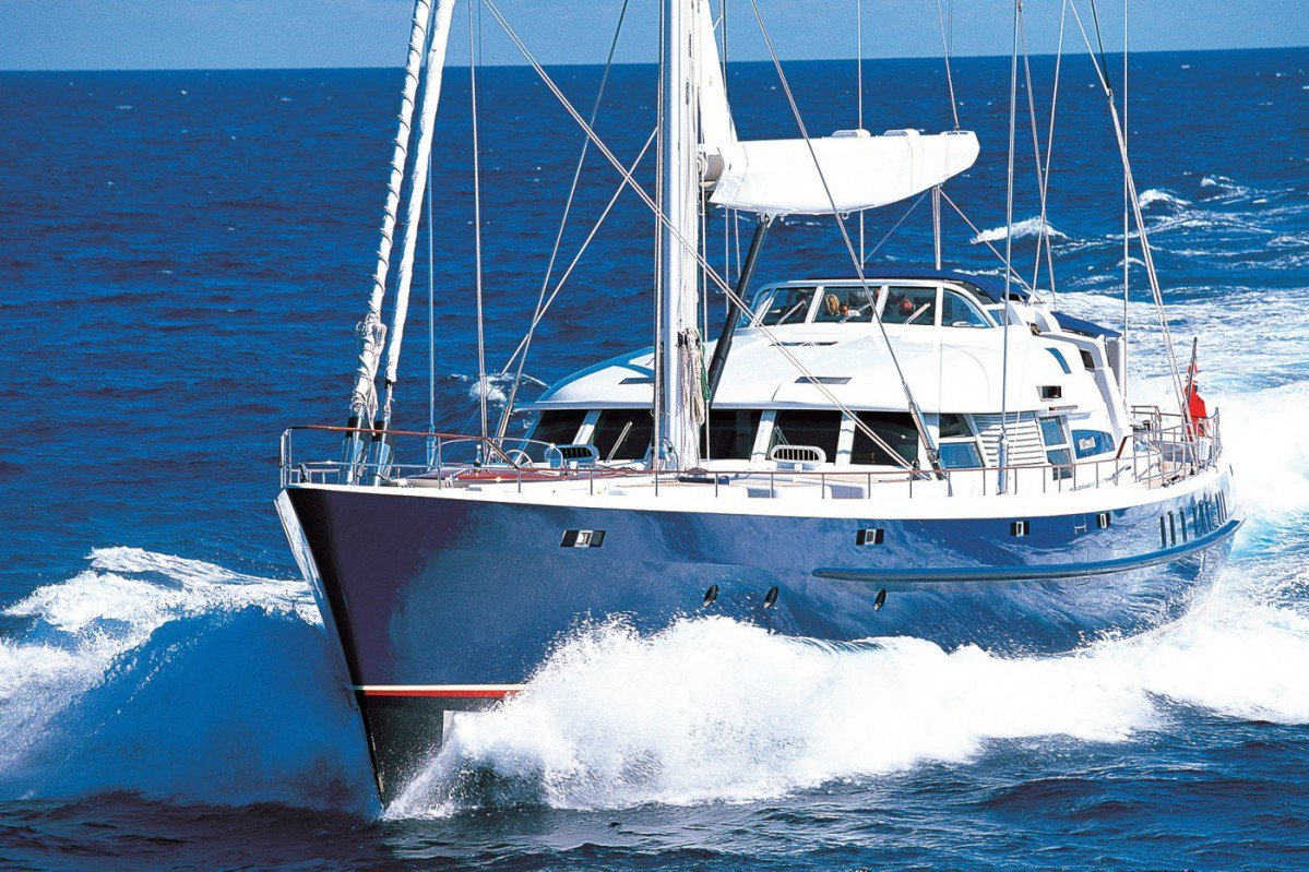 Pendennis Built Sail Yacht Mitseaah Can Be Yours