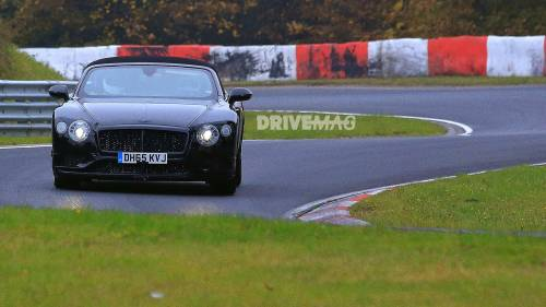 2018 Bentley Continental GT, GTC Mules Spied on the Nurburgring