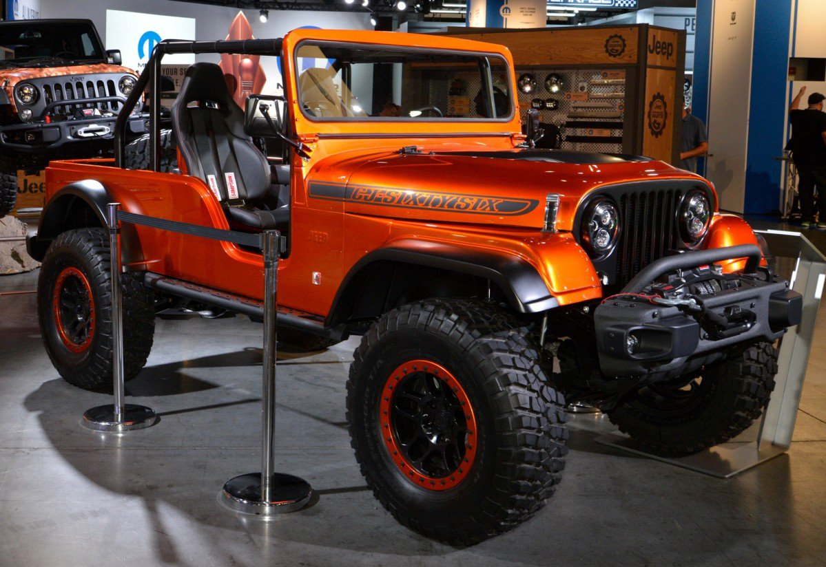Jeep brings together three wrangler generations in for Cj custom homes