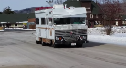 How Much Power Do you Think This Supercharged V8-Swapped RV Has?