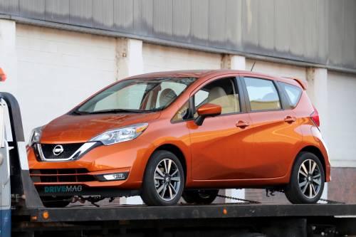 2017 Nissan Versa Note Rides Disrobed in Detroit