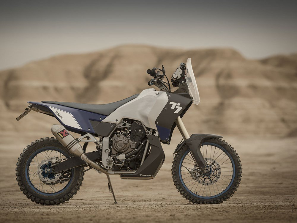 Yamaha t7 tenere concept is this the new big thing in the for Yamaha adventure bike 2018