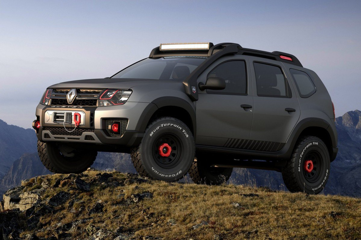 renault duster extreme concept looks ready to conquer any. Black Bedroom Furniture Sets. Home Design Ideas