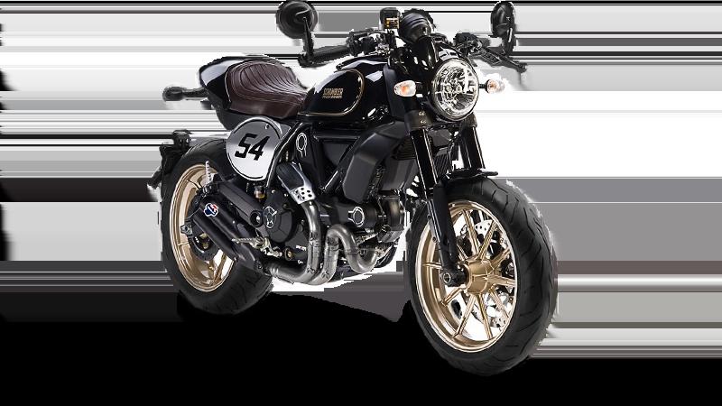 New Scramblers by Ducati: Cafe Racer & Desert Sled