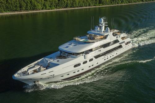 M/Y Silver Lining From Christensen Yachts Is A Sight To Behold