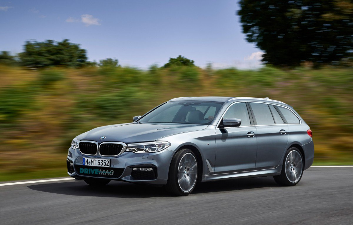 bmw 5 series wagon rendering should tickle your family fancy. Black Bedroom Furniture Sets. Home Design Ideas