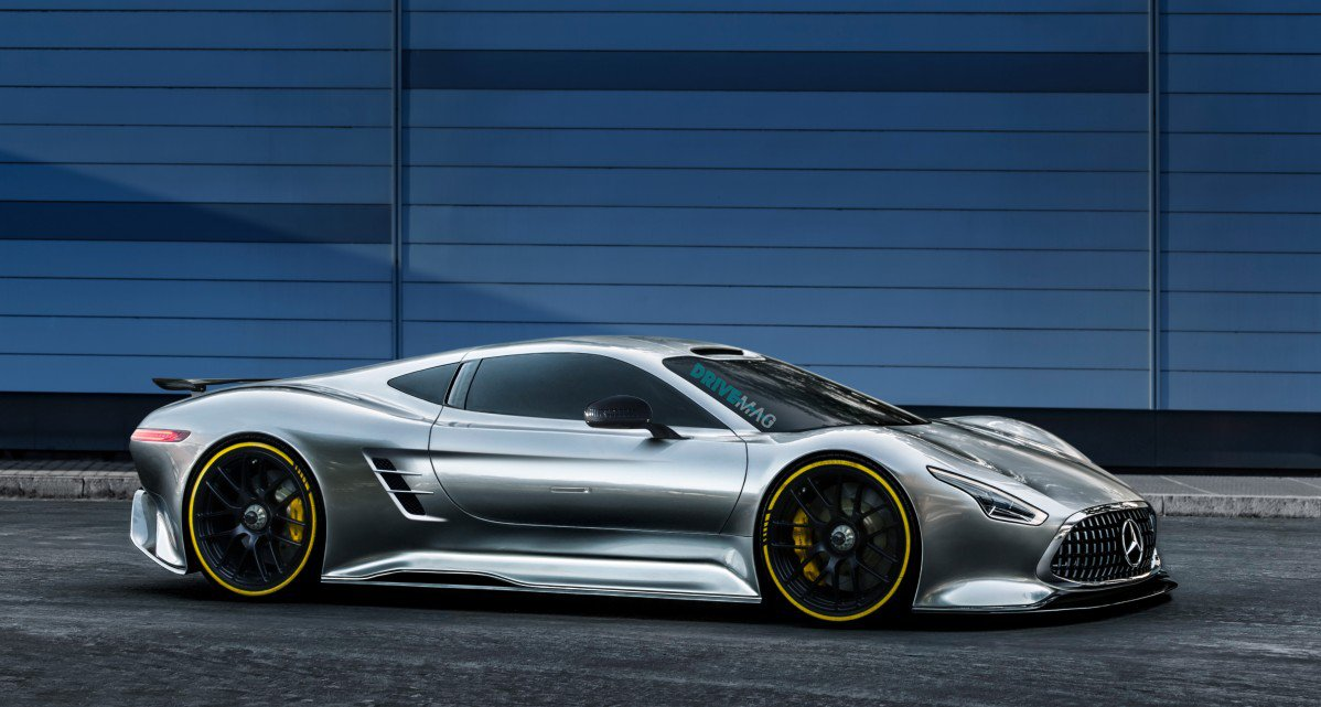 Here's a Luring Take on the Mercedes-AMG R50 Supercar To ...