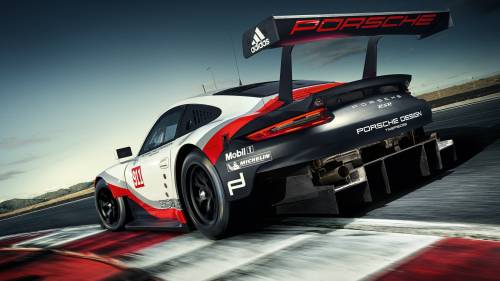 Behold, Porsche's mid-engined 911 RSR