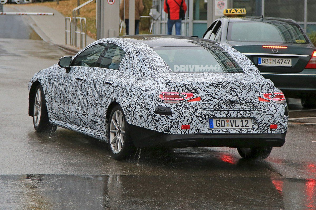 2018 Mercedes-Benz CLE to Retain Sleek Styling, Ditch CLS Moniker