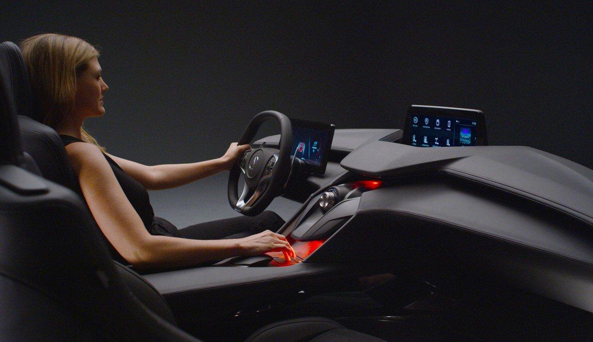 Acura Shows Off Precision Cockpit at LA Auto Show | {Auto cockpit 98}