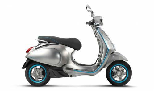 Vespa Elettrica lights up the scooter world