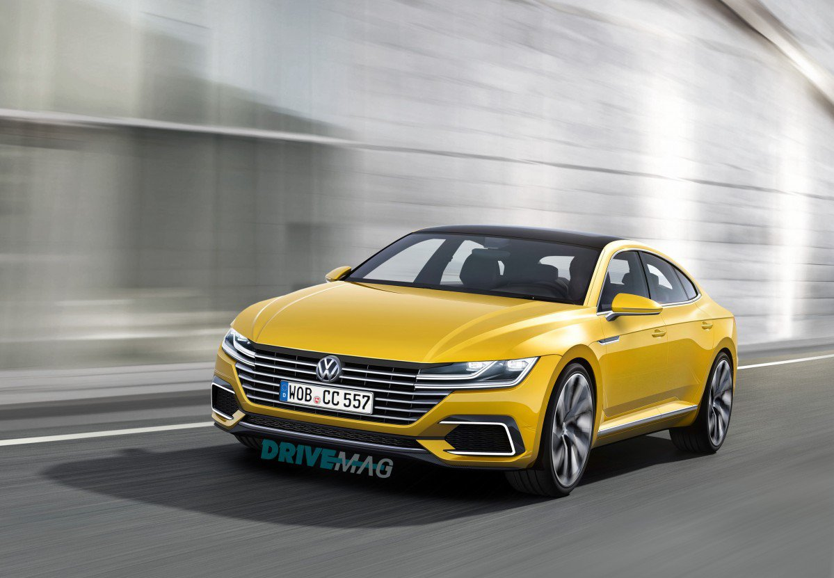 Volkswagen Arteon Sketch Marks Cc Replacement