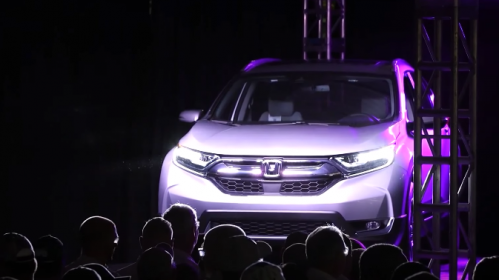 Honda Begins North American Production of CR-V for Global Market