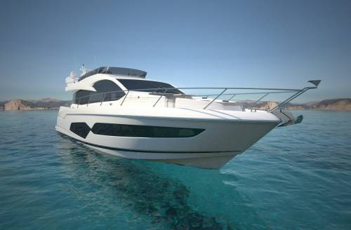 Sunseeker Manhattan 66 Will Be Launched At the 2017 London Boat Show