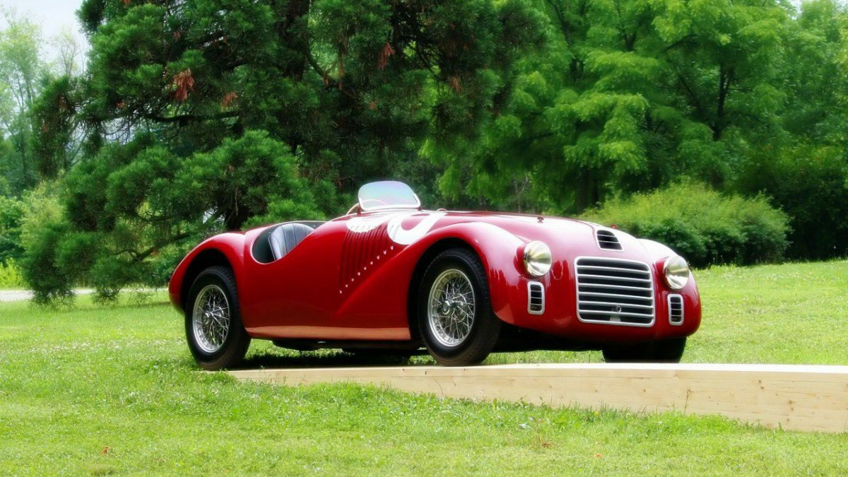 1947 Ferrari 125 S The Ferrari Icons