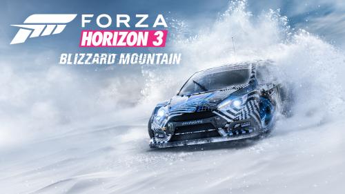 Forza Horizon 3 Gets First Major DLC Called Blizzard Island