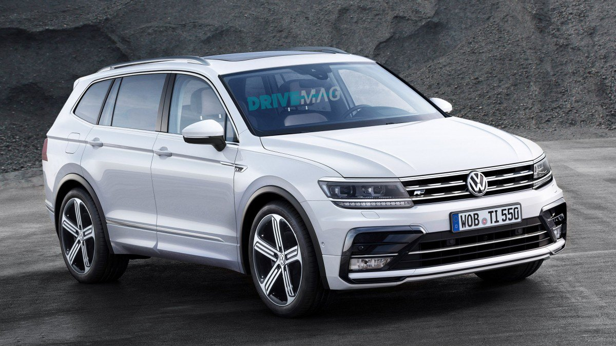 Stretched Volkswagen Tiguan Allspace Coming To Detroit