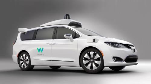 Google's Waymo Reveals Chrysler Pacifica-Based Autonomous Car