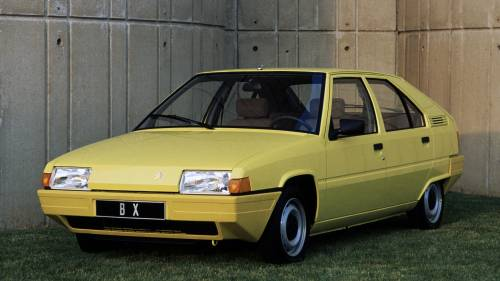 Citroen BX Styling Perfectly Sums Up the 1980s