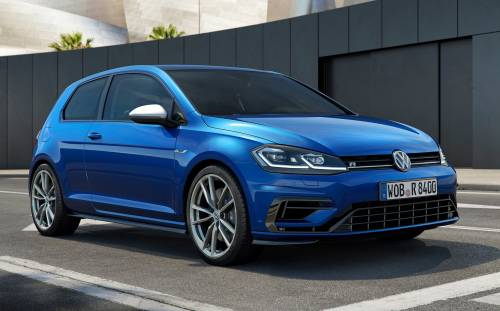 2017 VW Golf R Receives More Power for Christmas