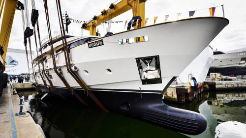 Sanlorenzo's New 34m SD112 Yacht Launched