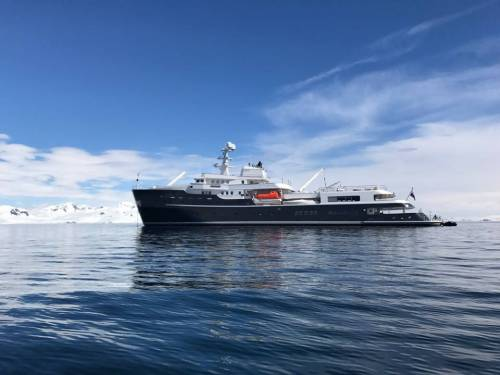 Take a Look at Explorer Yacht Legend Doing What It Knows Best: Exploring Antartica