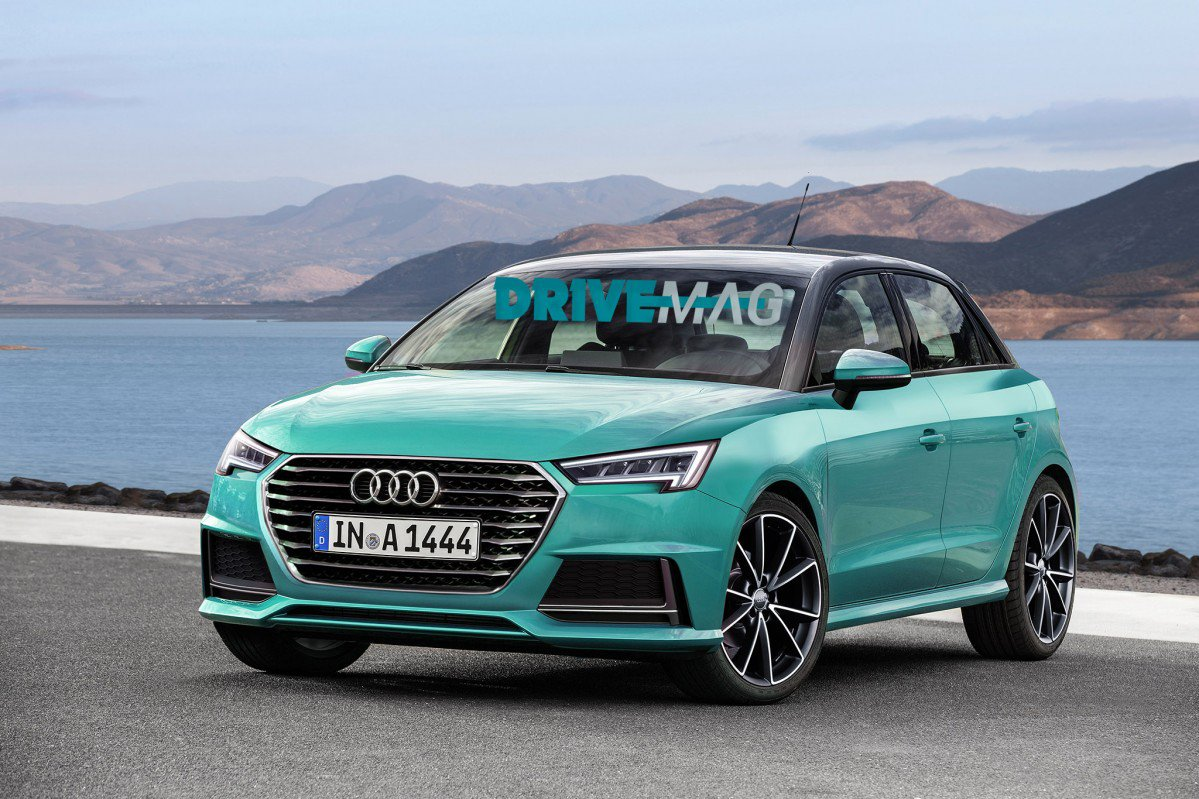 Audi A1 New Model >> Grown Up All-New Audi A1 Spotted Winter Testing