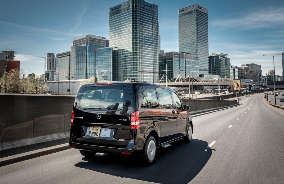 New London Black Cab Is A Custom Mercedes Vito