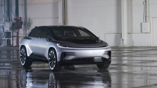 Faraday Future FF 91 Holds 1,050 HP, 378 Miles EPA-Estimated Range and Odd Styling