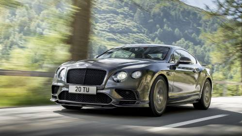2017 Bentley Continental Supersports Blows Its Own Trumpet with 209 MPH Top Speed