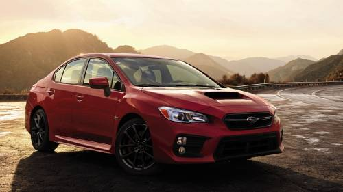 2018 Subaru WRX and WRX STI Are All About Comfort and Looks