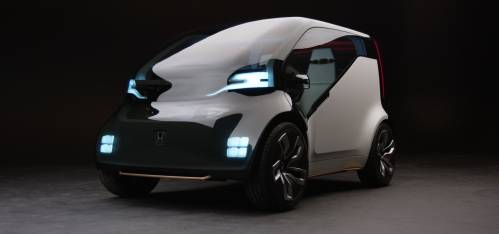 Honda's NeuV Concept Wants to Be Your EV, Employee, and Friend
