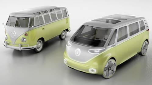 VW I.D. Buzz Concept Salutes NAIAS with 270-Mile Range, Fully Self-Driving Pledge