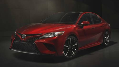 2018 Toyota Camry: Lexus-Like Front Grille, Three New Powertrains at NAIAS