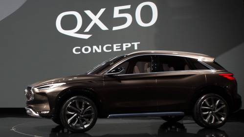 Infiniti QX50 Concept Dresses to Impress in Detroit, Will Lobby for New  VC-Turbo Engine