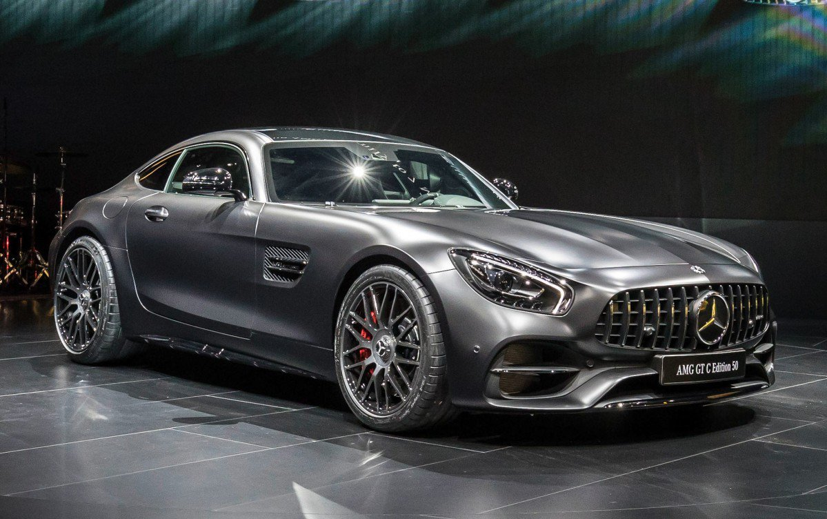 facelifted 2018 mercedes amg gt gets more power gt c coup version a. Black Bedroom Furniture Sets. Home Design Ideas