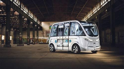 Las Vegas Pioneers Self-Driving Buses