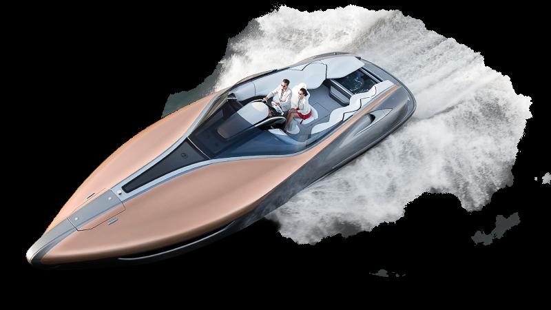 Lexus Makes a Splash with the Sport Yacht Concept