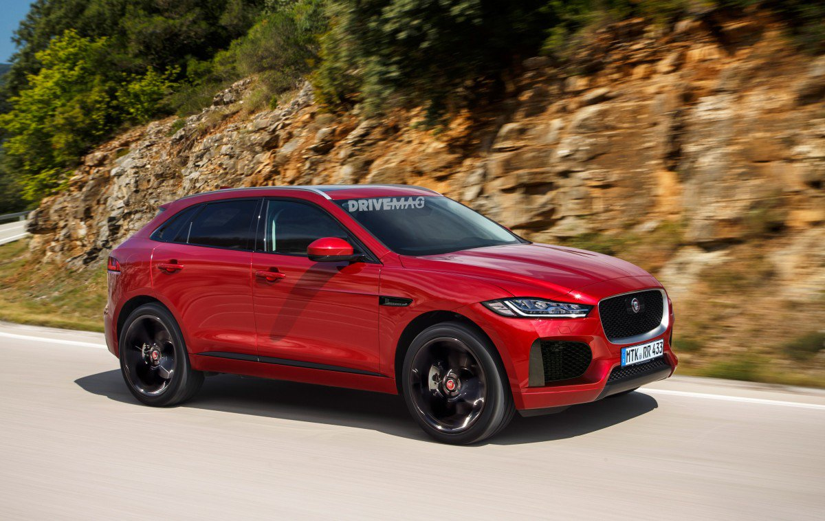 2017 Jaguar Lineup >> All-New 2018 Jaguar E-Pace Crossover Undergoes Winter Testing