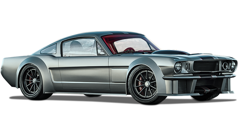 That's What 10,000 Hours of Tuning Work Will Do to a 1965 Ford Mustang