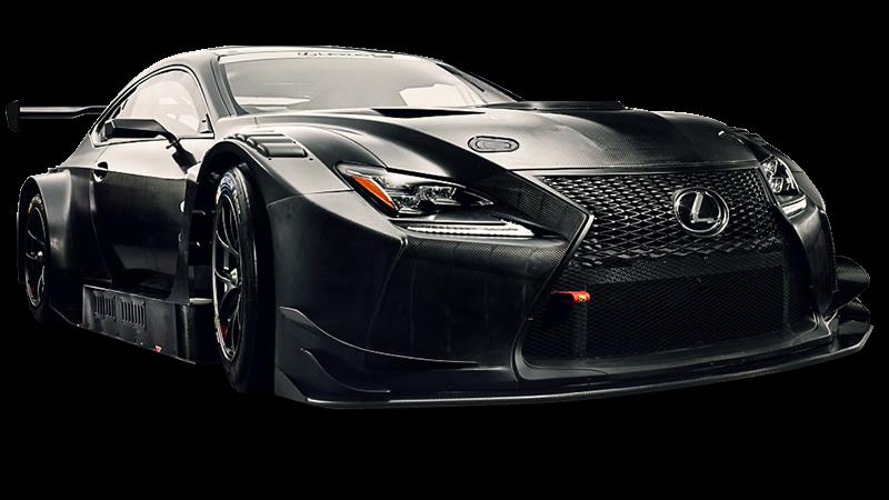 2017 Lexus RC F GT3 Looks Like a Carbon-Fiber Plated, Race-Ready Katana