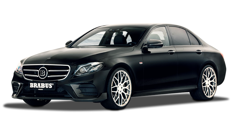 Brabus Gives the Mercedes-Benz E-Class Some Vitamins
