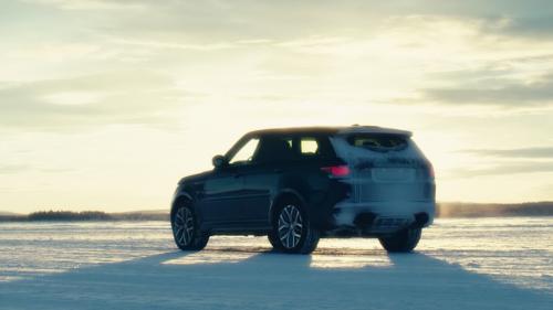 Range Rover Sport SVR Proves It's Fast on Any Terrain