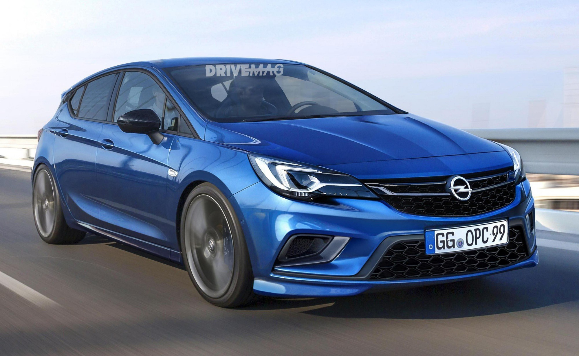 All New 2017 Opel Astra Opc Will Most Likely Look Like This