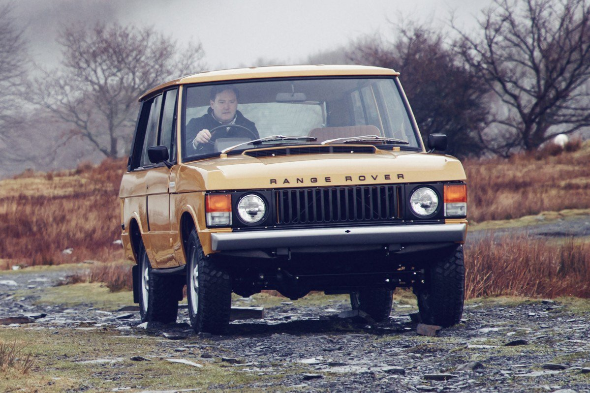 range rover 1978 manual dexterity on