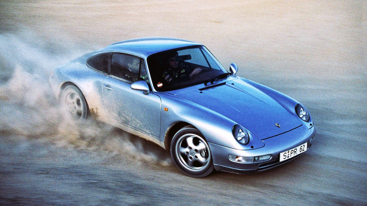 this 1995 porsche 911 presentation is as pure as the car