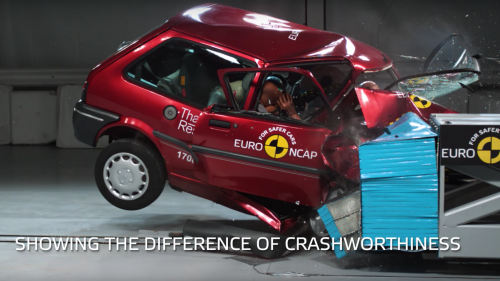 Euro NCAP Celebrates 20 Years With a Smashing Then-and-Now Video