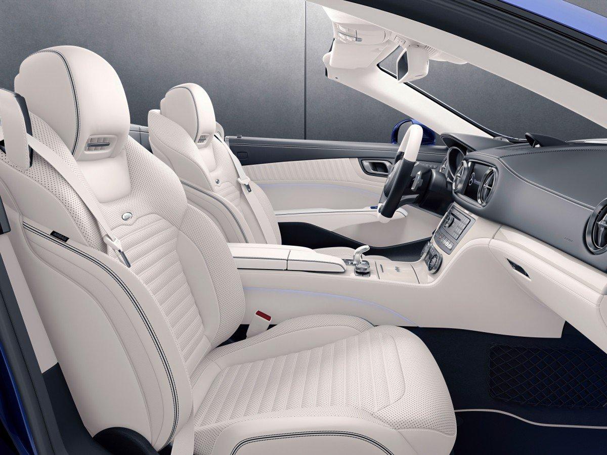 Mercedes Benz Slc Redart And Sl Designo Editions Revealed