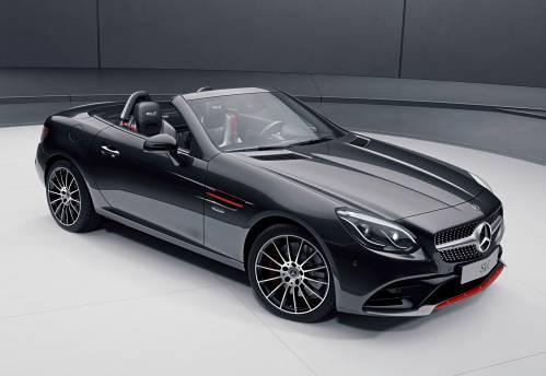 Mercedes-Benz SLC RedArt and SL designo Editions Revealed